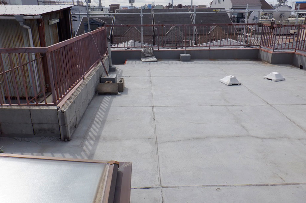 屋上の現況写真