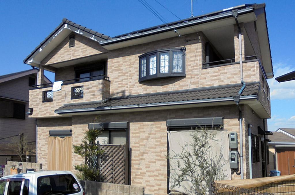 一般的な2階建ての一戸建て住宅