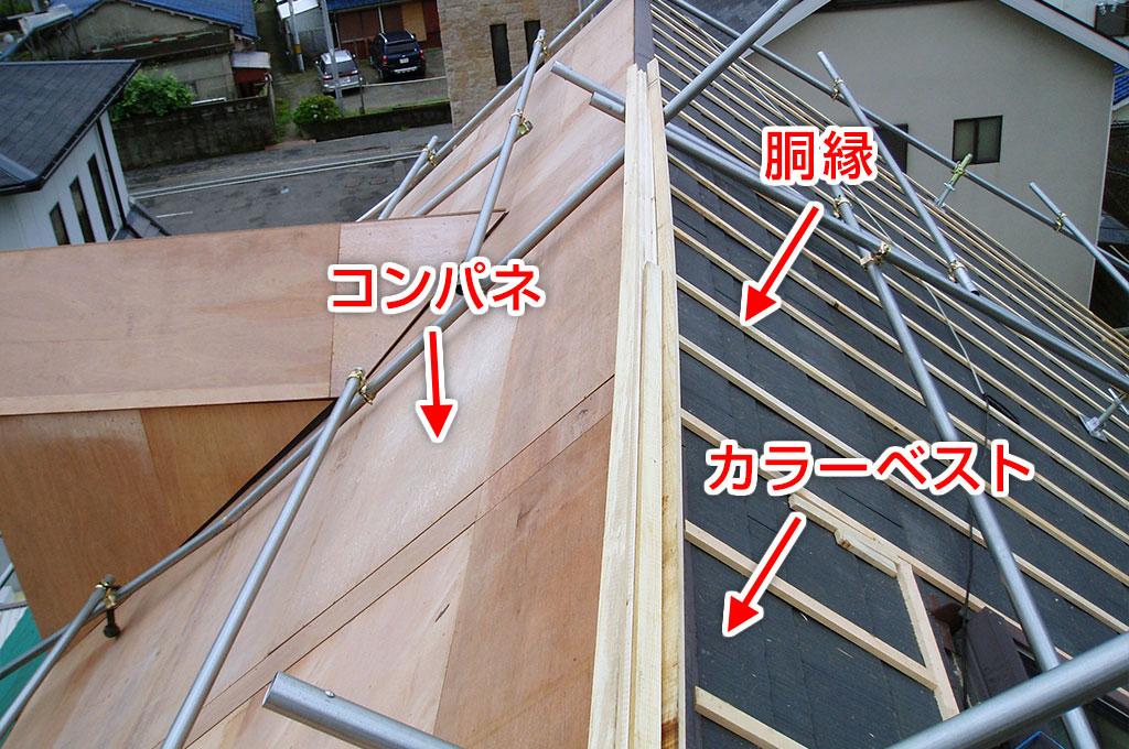 屋根通気工法