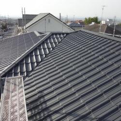 屋根葺き替え施工例