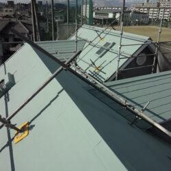 屋根ガイナ施工例