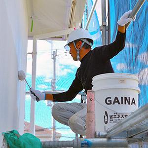 東大阪市のガイナ屋根・外壁塗装専門店-ペイント一番:外壁塗装実績