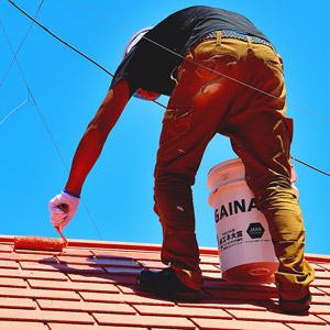 東大阪市のガイナ屋根・外壁塗装専門店-ペイント一番:ガイナ塗装実績