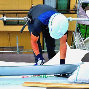 東大阪市のガイナ屋根・外壁塗装専門店-ペイント一番:金属瓦カバー工法実績