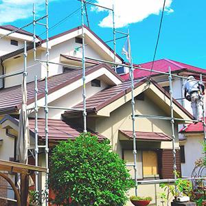 東大阪市のガイナ屋根・外壁塗装専門店-ペイント一番:屋根吹き替え実績