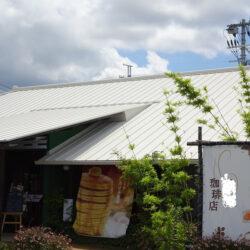 屋根ガイナ塗装施工例