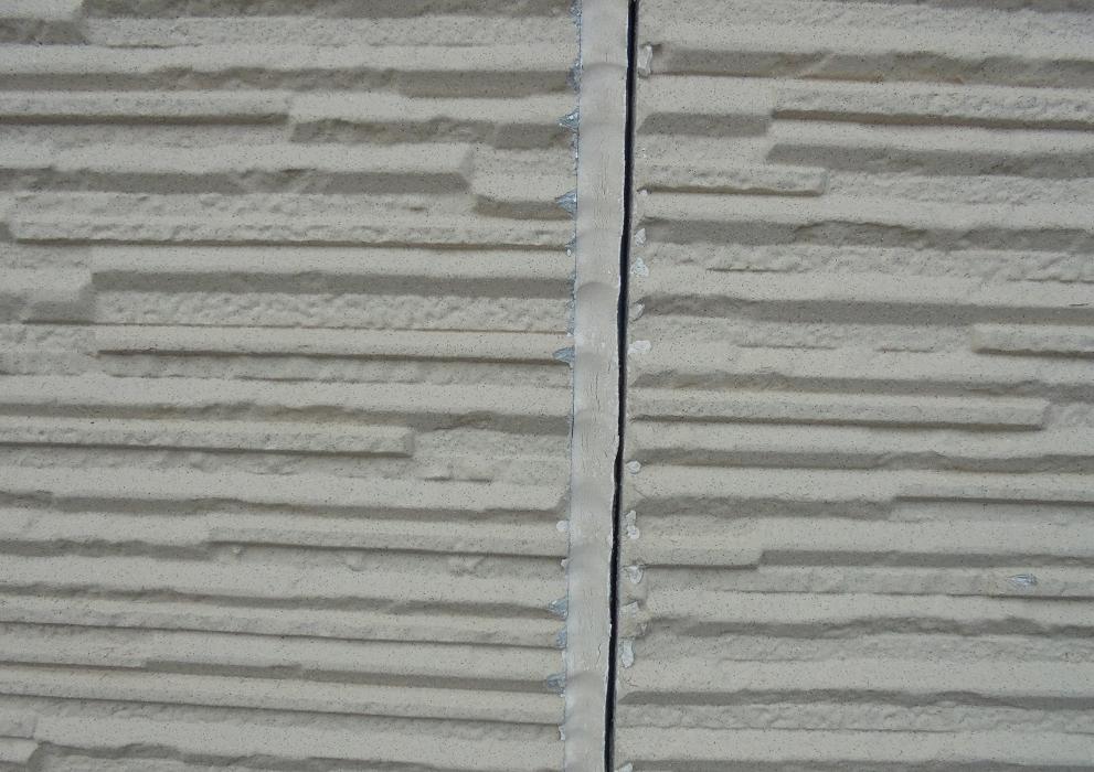 サイディング外壁コーキング施工前