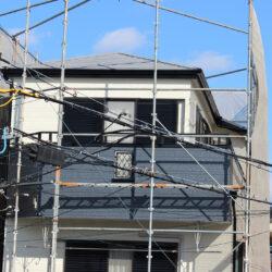 サイディング外壁塗装工事完工