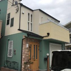 サイディング外壁ガイナ塗装