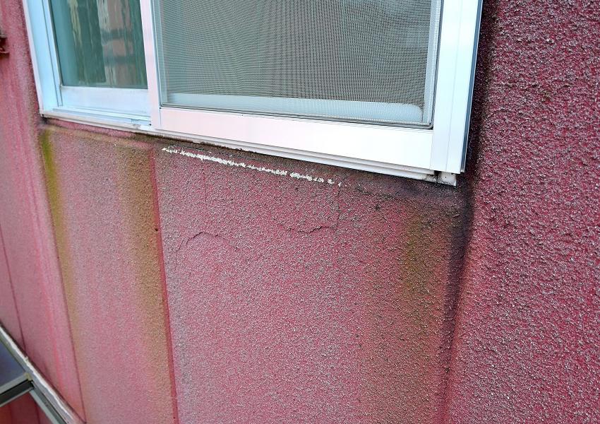 ALC外壁塗装前爆裂