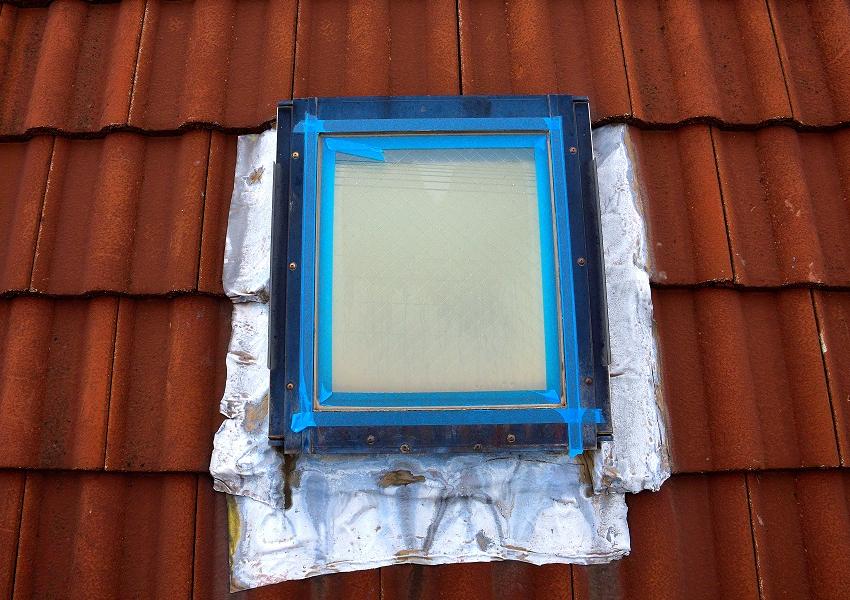 雨漏り天窓